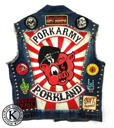 PORK ARMY VEST BACK